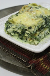 spinach and cream cheese lasagna